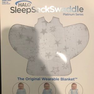 Brand New Halo Sleep Sack Swaddle Platinum Series